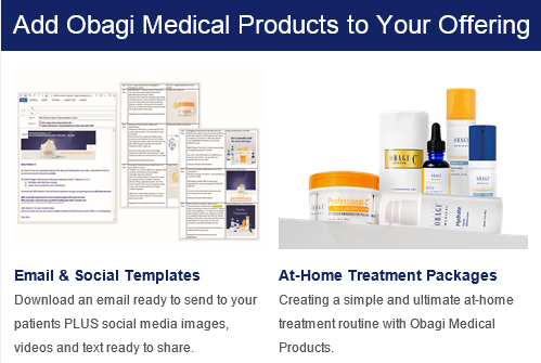 Add Obagi Medical Products to Your Offering