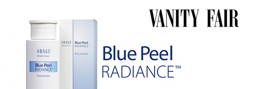 Obagi Blue Peel Radiance Features in Vanity Fair